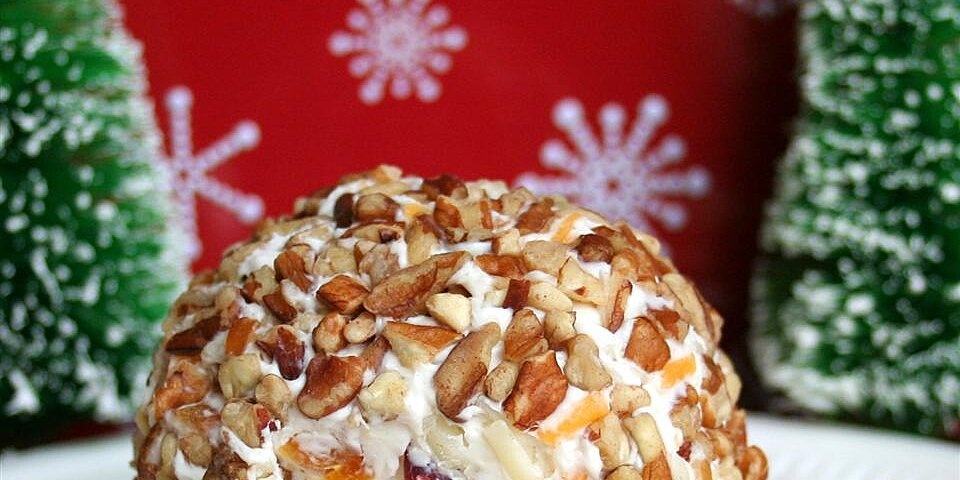dried fruit cheese ball recipe