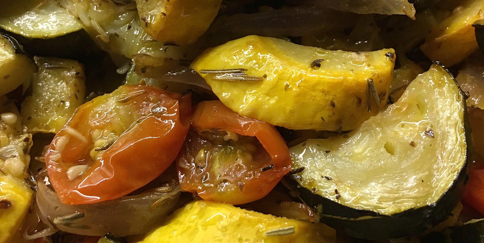 sheet pan roasted vegetables recipe