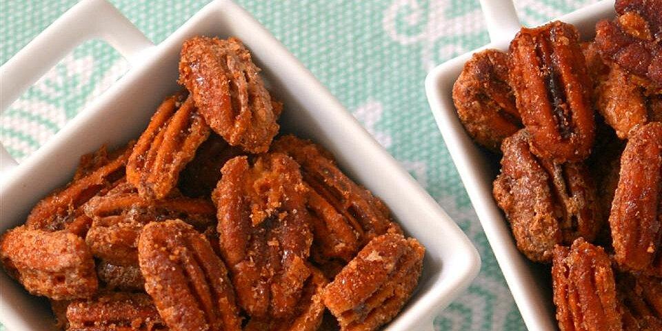 cinnamon sugared pecans recipe