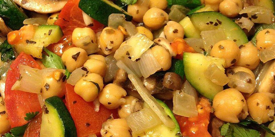 garbanzo stir fry recipe