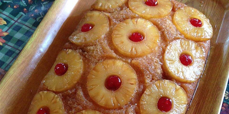 pineapple upside down cake v recipe