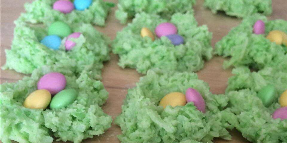 easter egg nests recipe