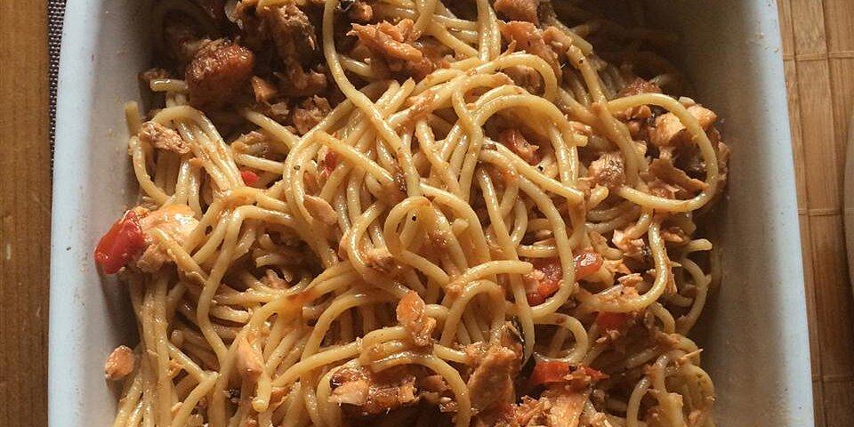 salmon pasta pomodoro recipe