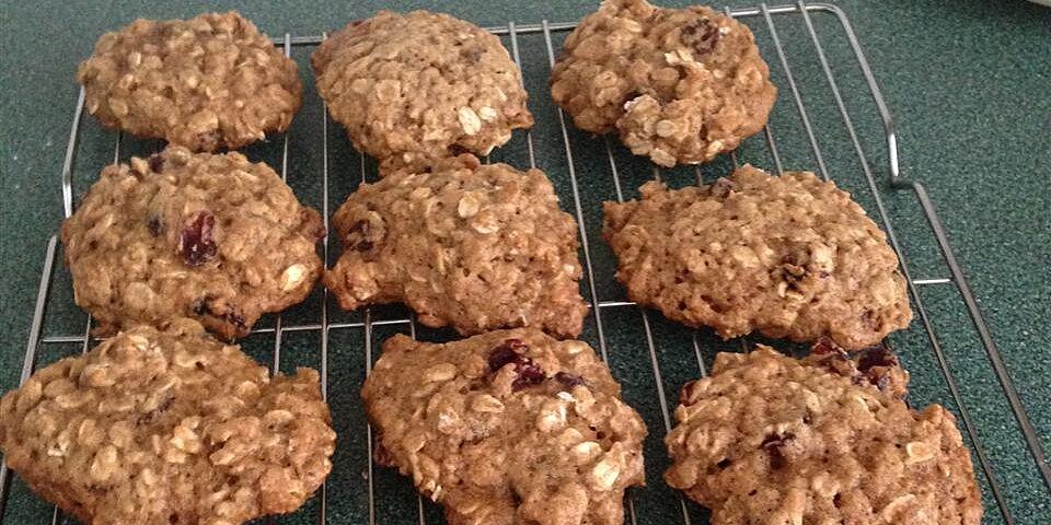 cranberry orange oat cookies recipe