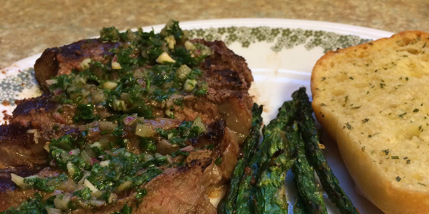 chimichurri sauce for steaks recipe