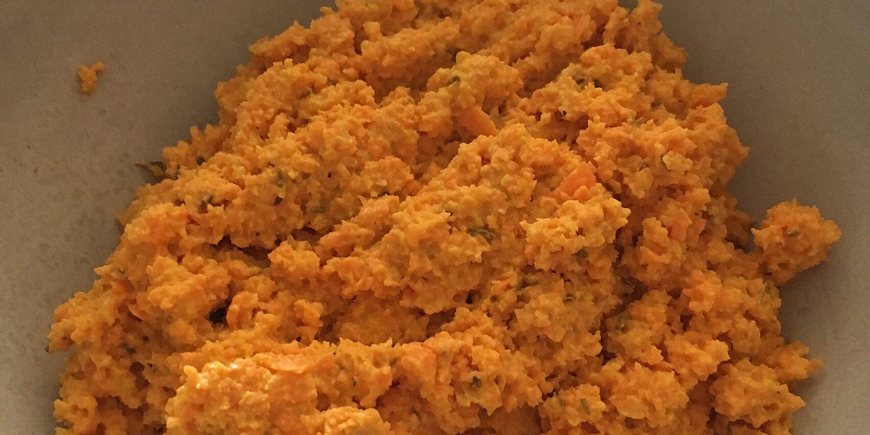 raw carrot dip recipe