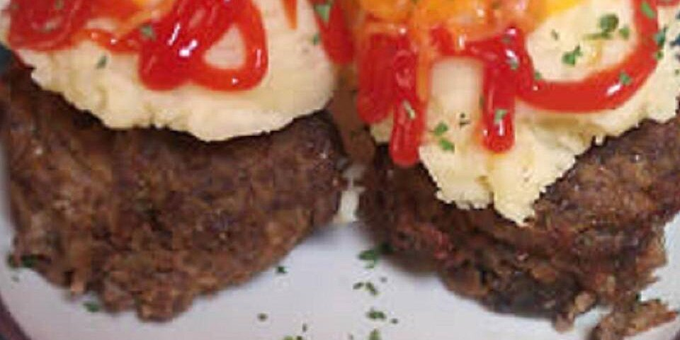 meatloaf muffins with brown gravy recipe