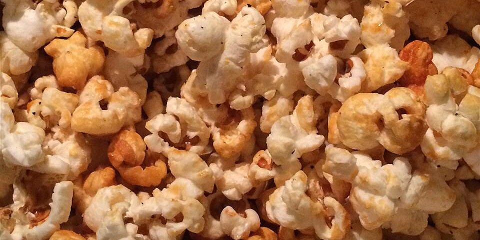spicy sweet stovetop popcorn recipe