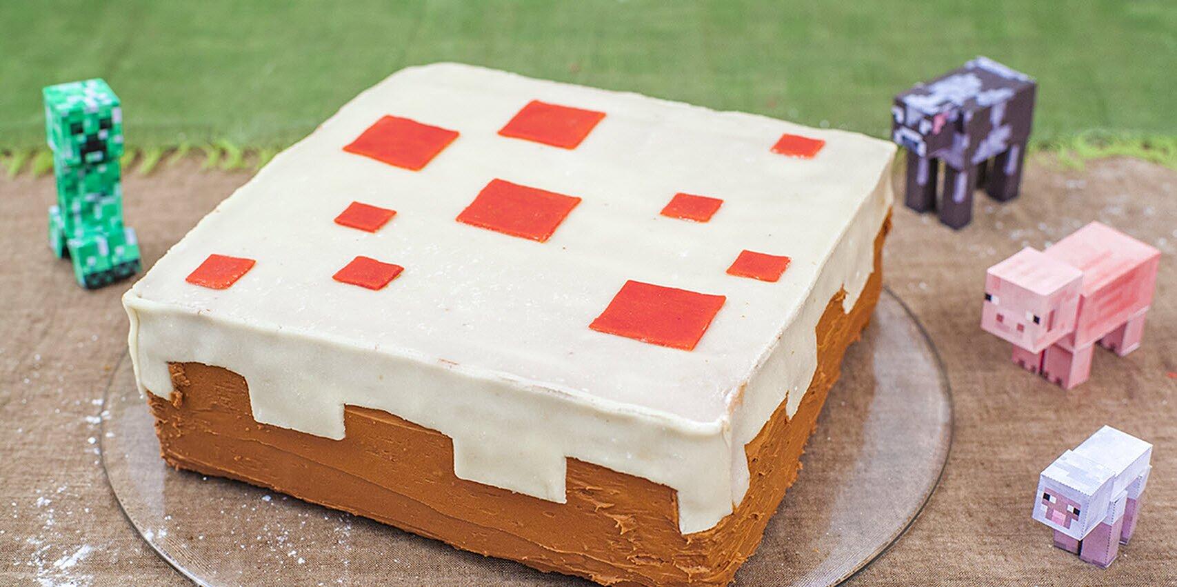 Minecraft Cake Recipe Allrecipes