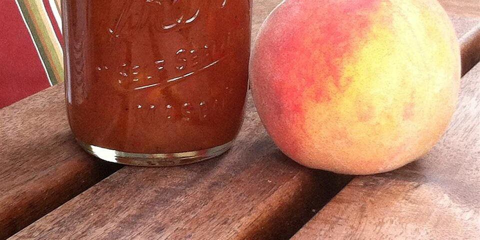 kikis spiced habanero peach jam recipe