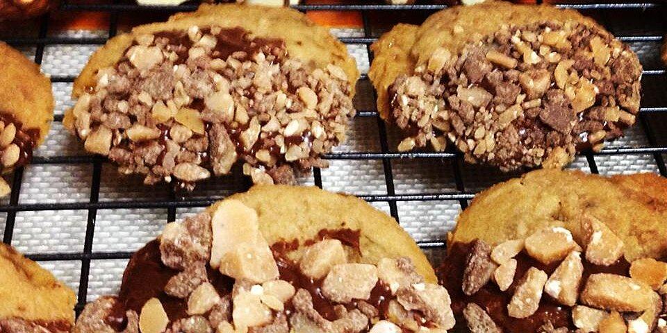 maple toffee shortbread cookies recipe