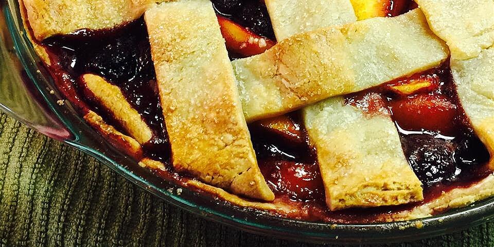 cherry berry peach pie recipe