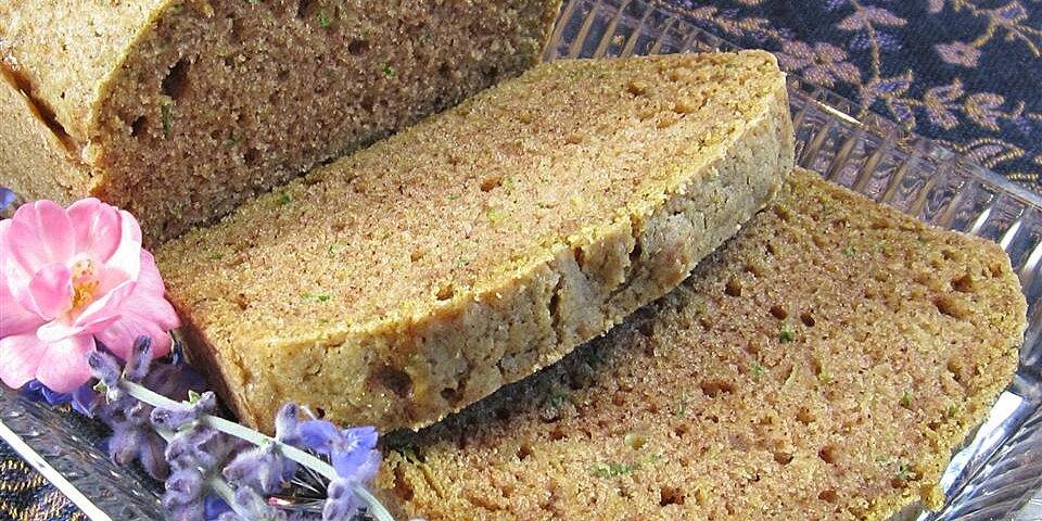 healthier zucchini bread iv recipe