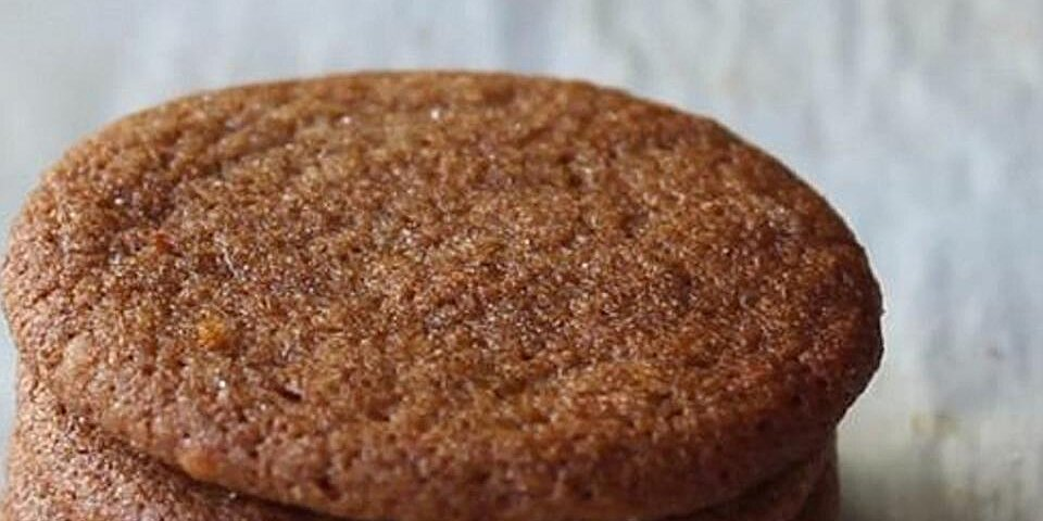 chef johns gingersnap cookies