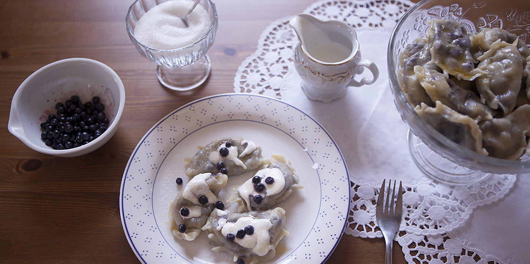 blueberry pierogi recipe