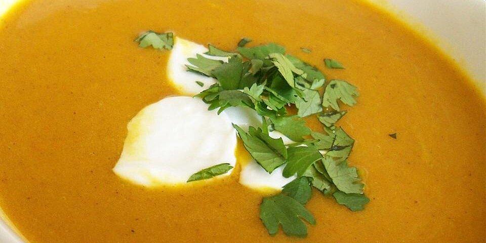 vegan carrot curry soup recipe