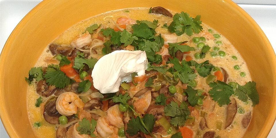 coconut milk shrimp soup recipe