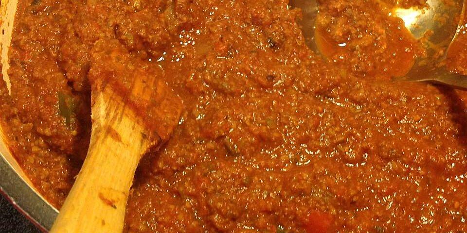 divine spaghetti sauce recipe