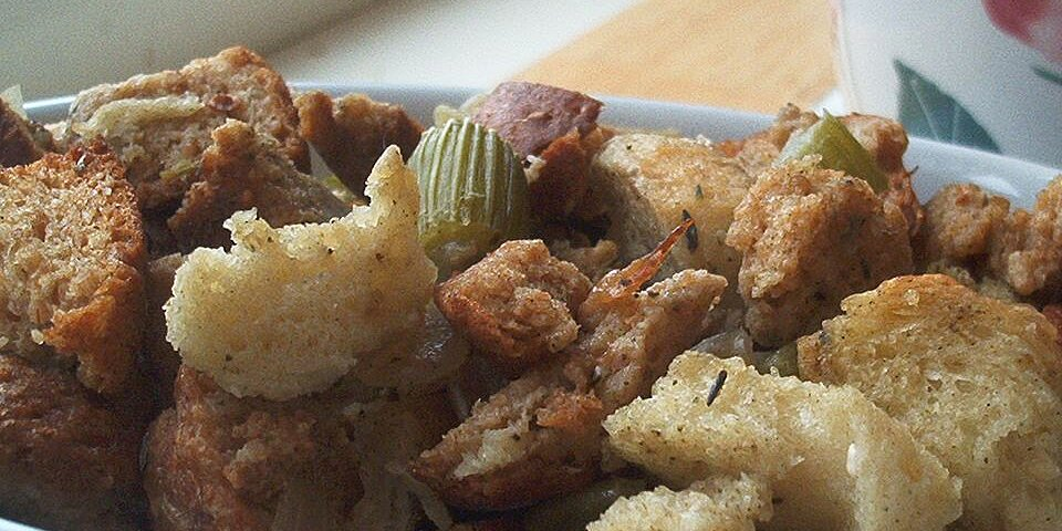 bread and celery stuffing recipe