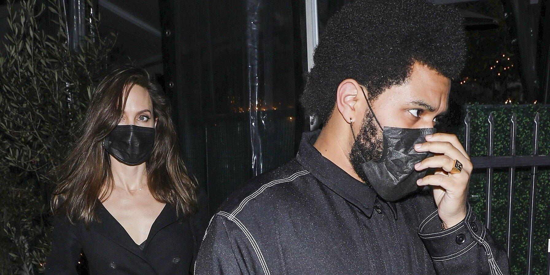 Angelina Jolie y The Weeknd ¿nace el amor?