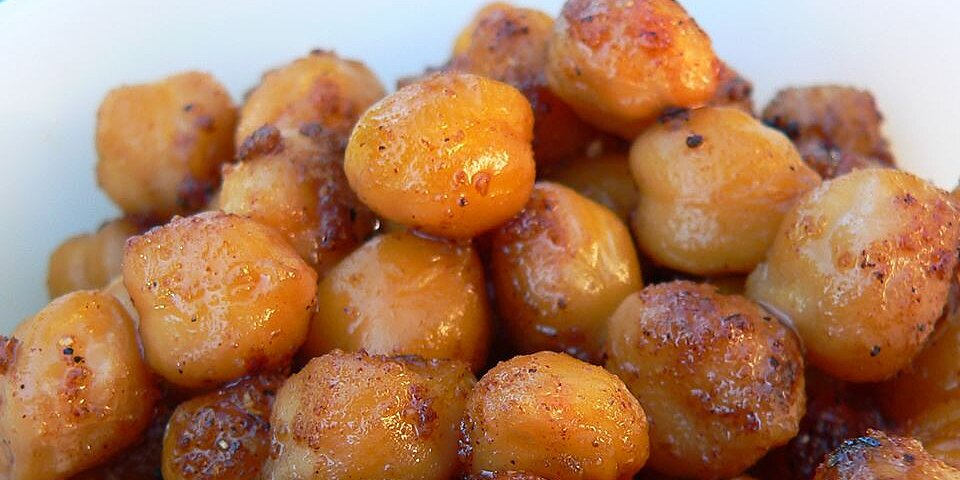 indian spiced roasted chickpeas recipe