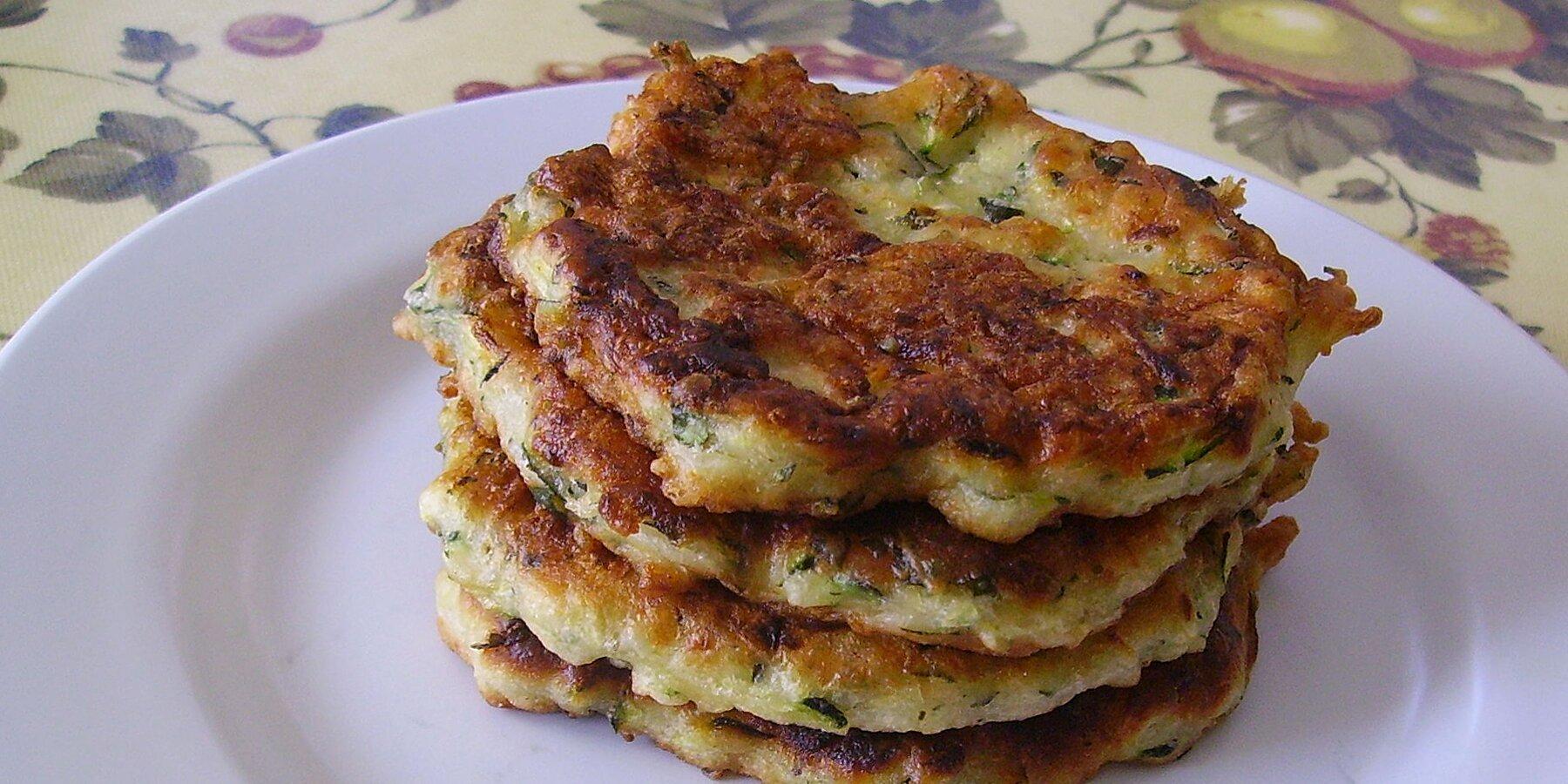 old fashioned italian zucchini fritters recipe