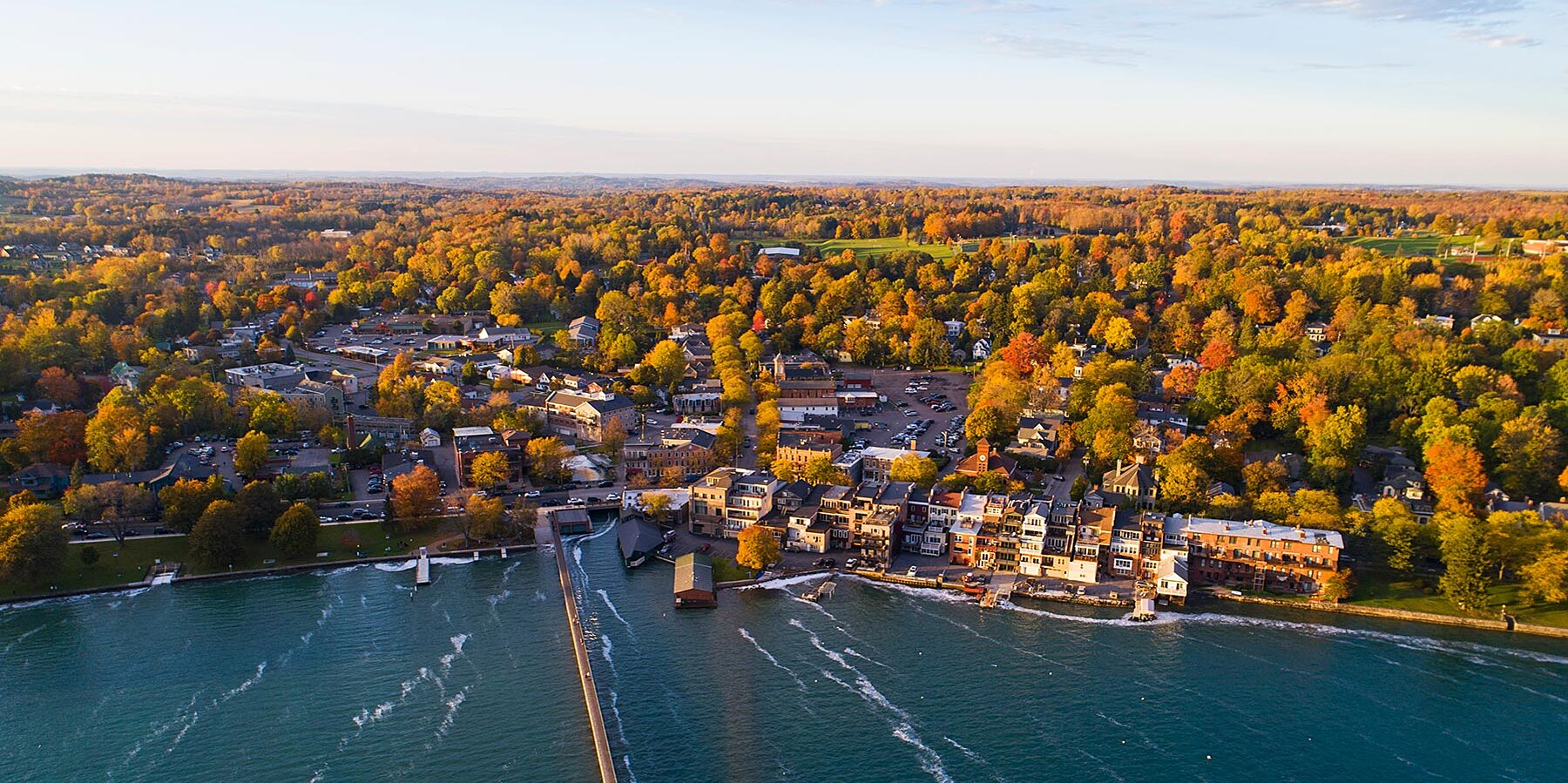 The Best Small Towns in New York