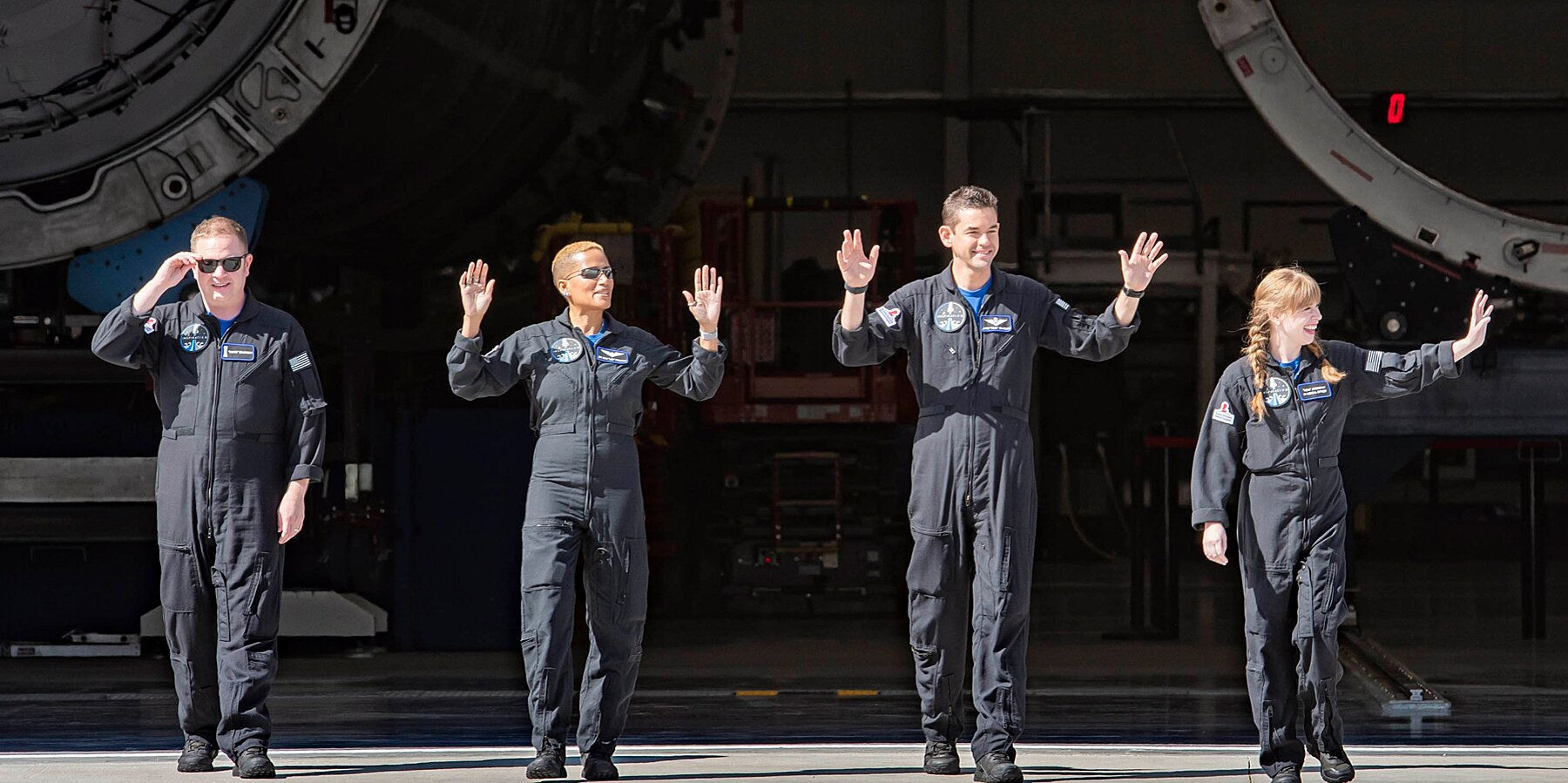 World's First All-civilian Space Crew Returns to Earth After Successful Mission
