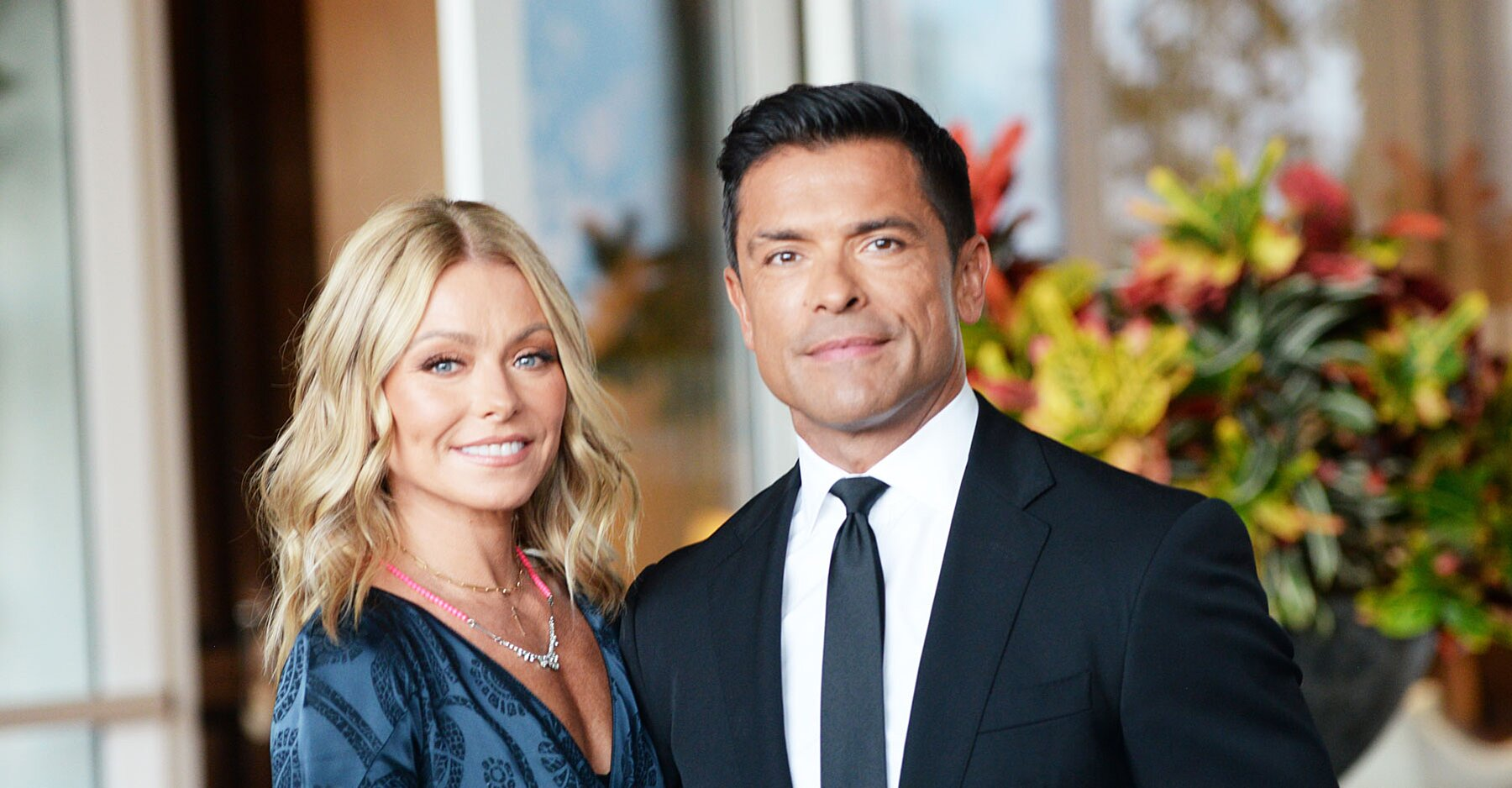 Kelly Ripa and Mark Consuelos' Vacation Turned Into a Months-long Caribbean Quarantine