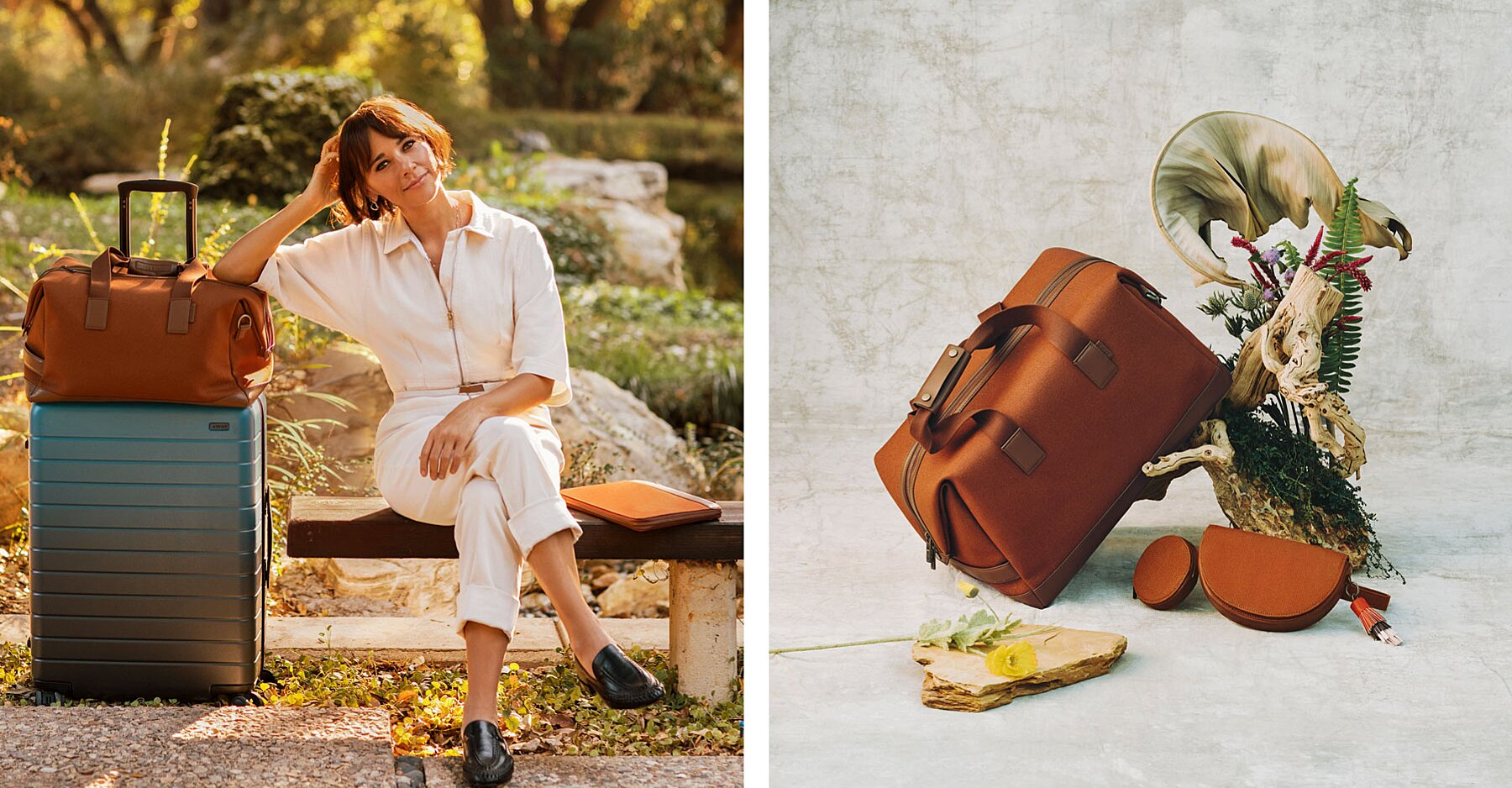 Rashida Jones and Away Teamed Up on a Luggage Collection — and It's Perfect for Weekend Getaways