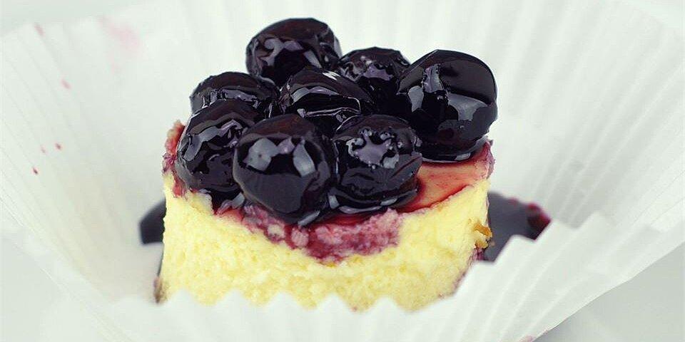 mini cherry cheesecakes recipe