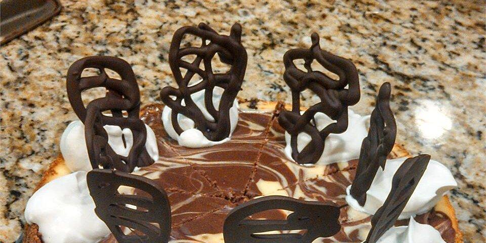 orange chocolate swirl cheesecake recipe