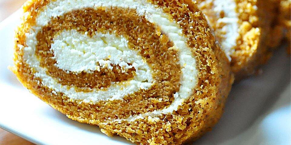 grandma carols pumpkin roll recipe