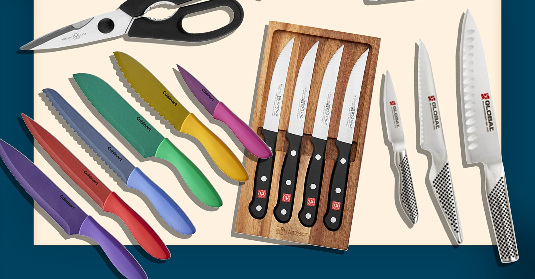 You Can Get 60% Off Some of Our Favorite Knife Brands at Williams Sonoma Right Now