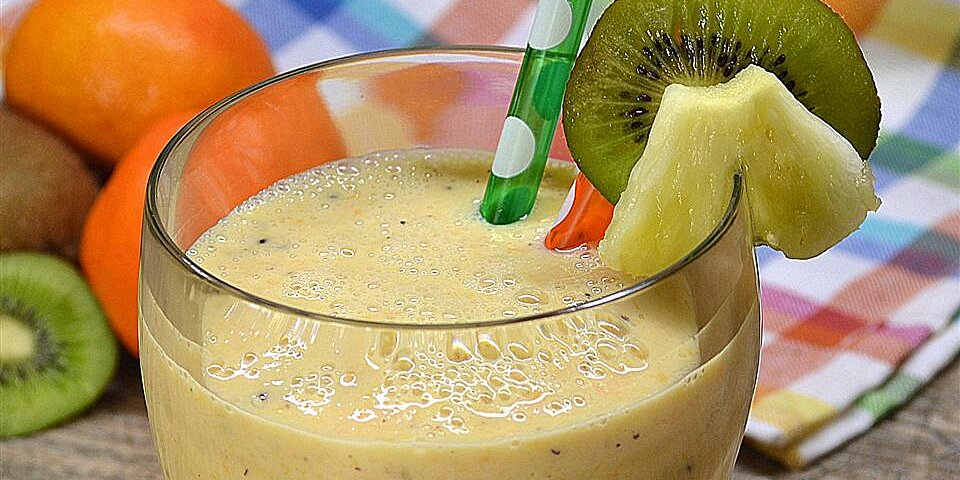 crunchy pineapple smoothie recipe
