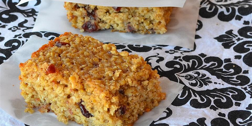 baked oatmeal breakfast bars recipe