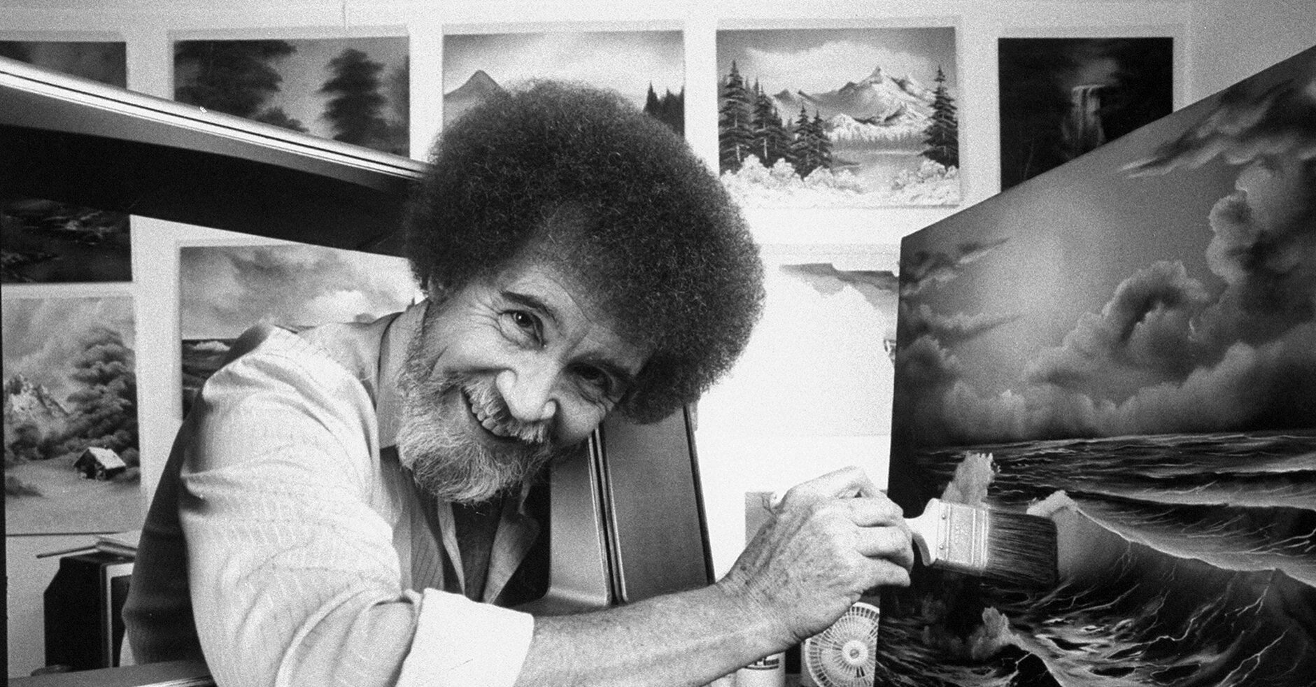 Reminder: You Can Watch Every Episode of Bob Ross's 'The Joy of Painting' for Free Online