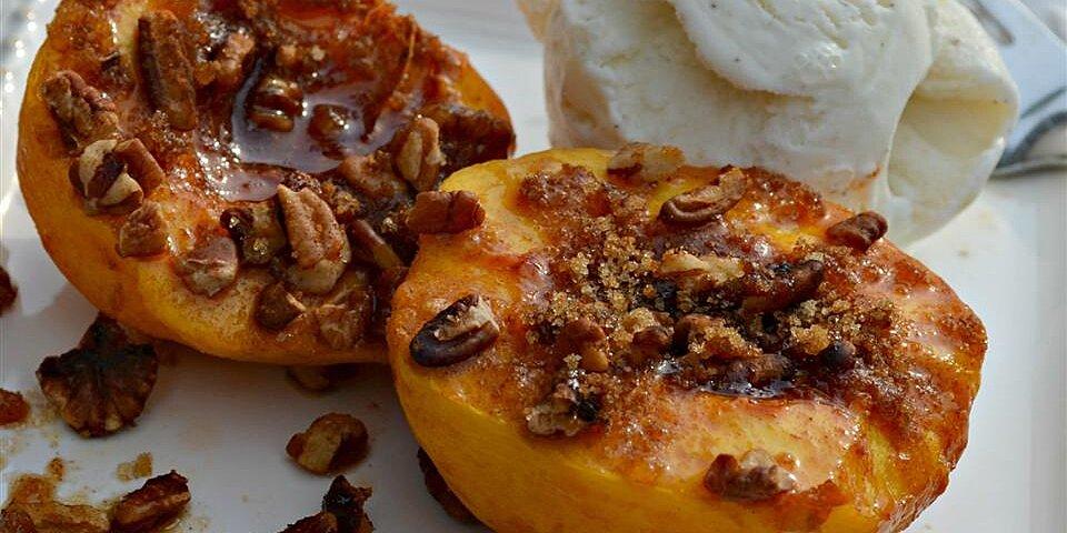 peach brulee recipe