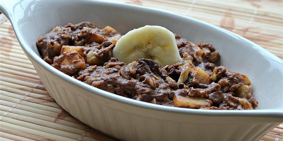 cinnamon apple and banana granolameal recipe
