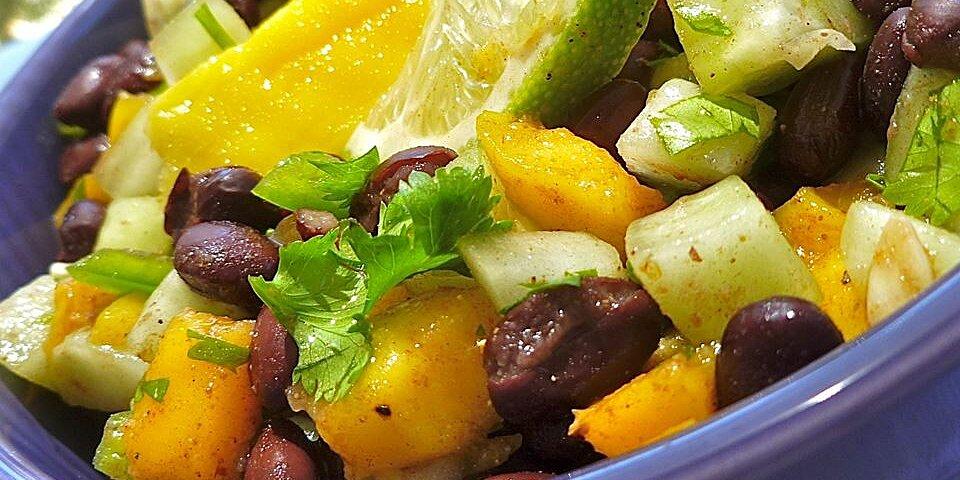 cucumber mango and black bean salad recipe