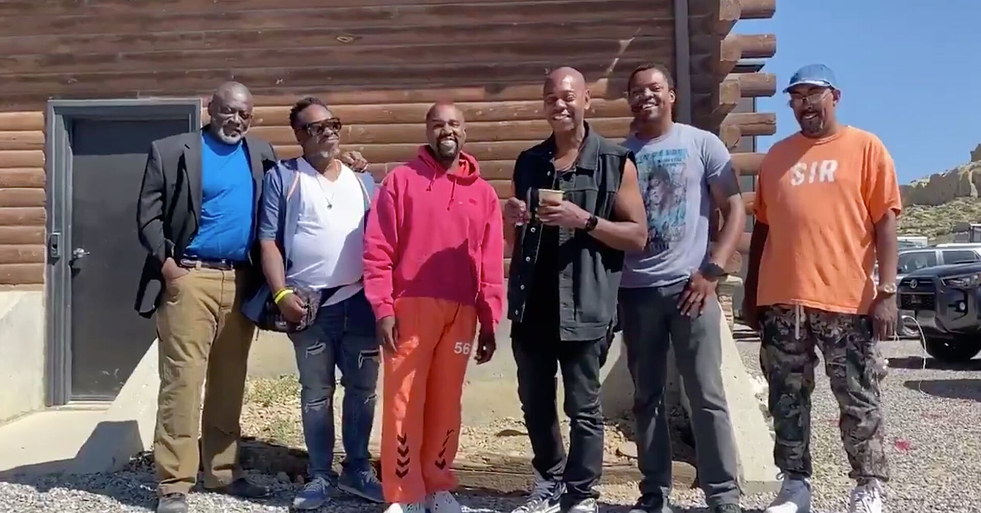 dave chappelle flies to wyoming to check in on kanye west people com dave chappelle flies to wyoming to
