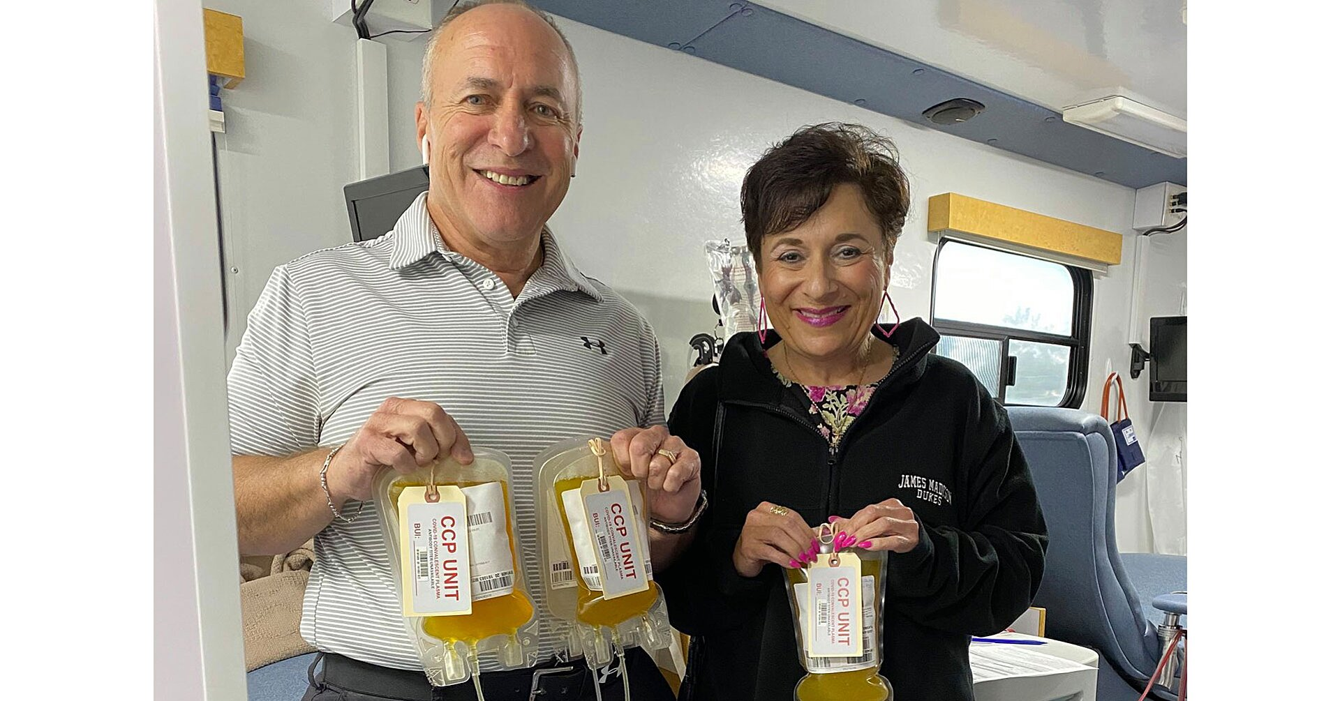 Texas Couple's Plasma Donations Have Helped 71 (and Counting) COVID-19 Patients