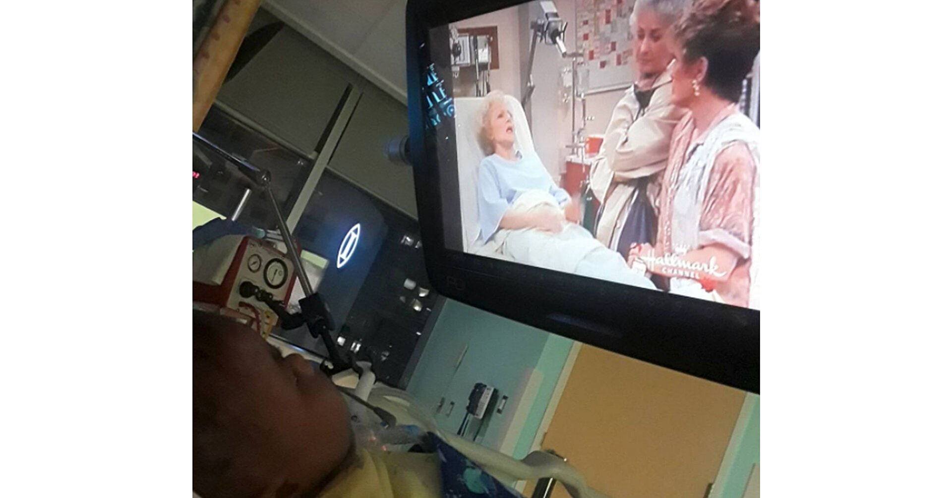 """Baby Born with Severe Genetic Condition Can't Get Enough of the """"Golden Girls"""""""
