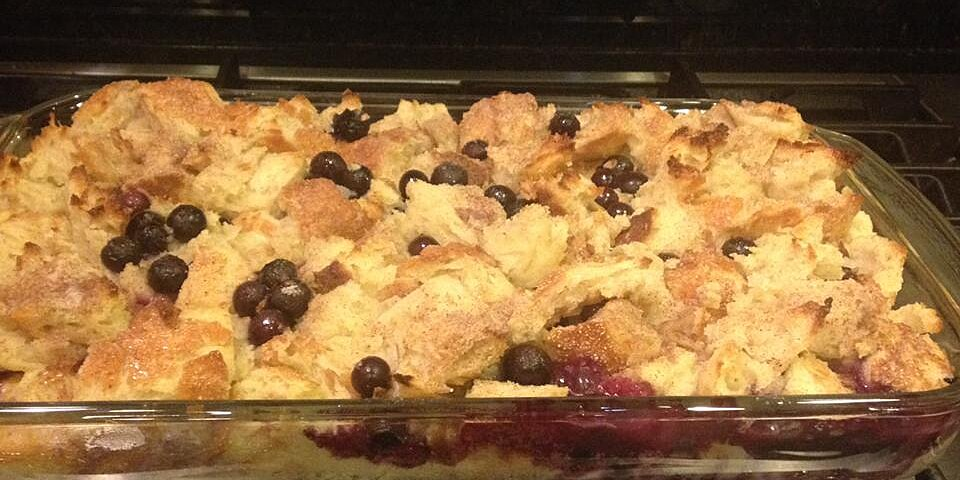 beths blueberry bread pudding recipe