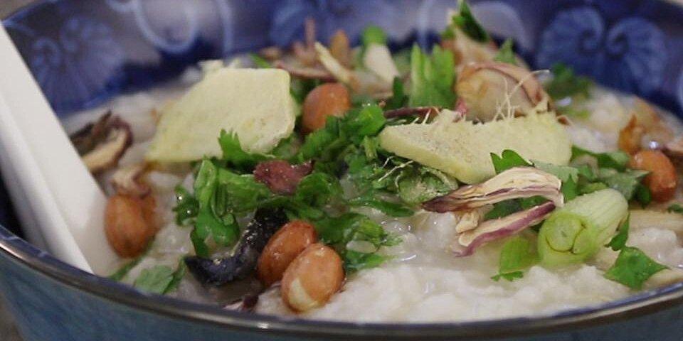 thanksgiving turkey congee recipe