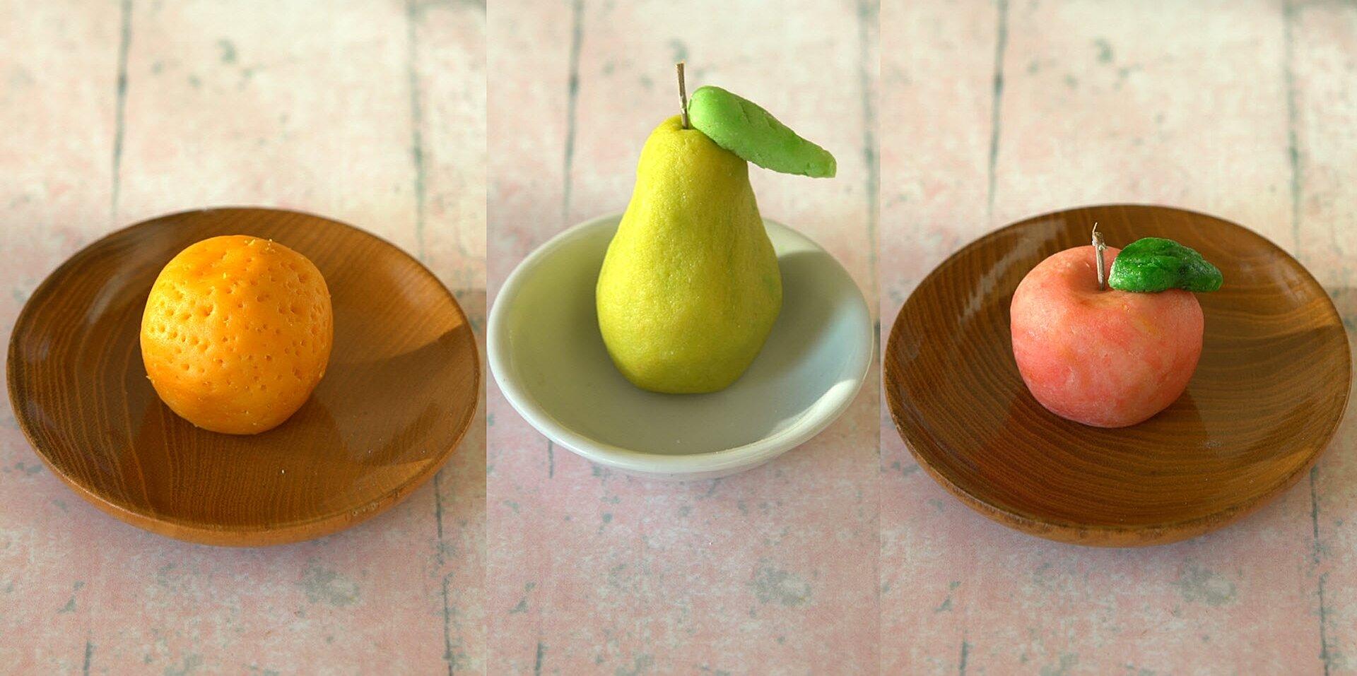 marzipan fruits recipe