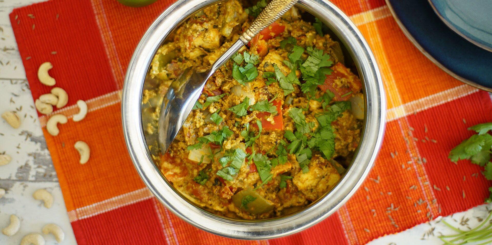 tandoori paneer tikka masala recipe