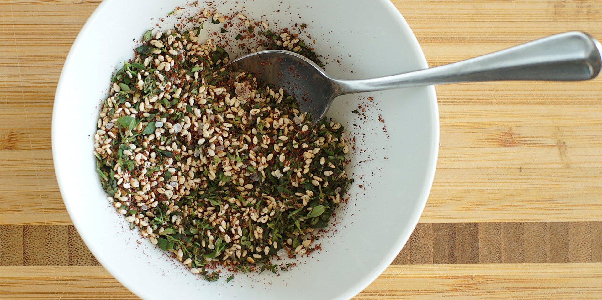 homemade zaatar recipe