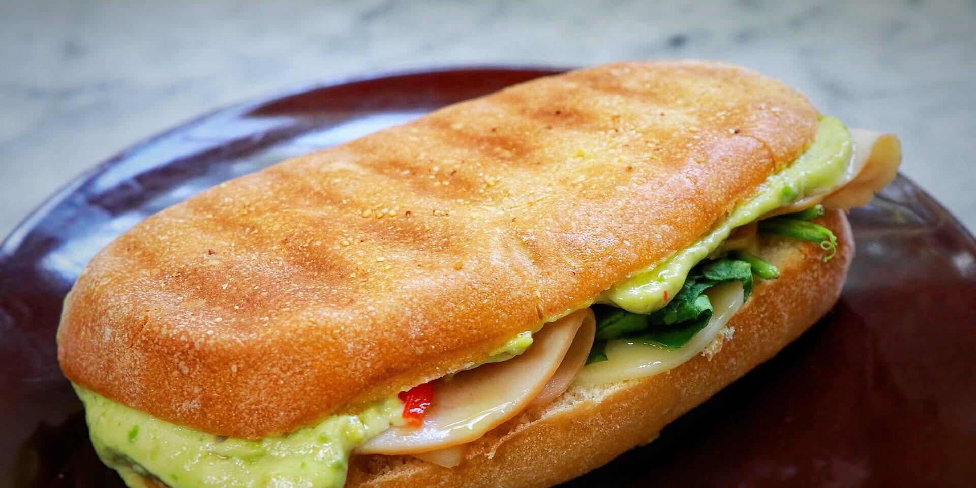 turkey avocado panini