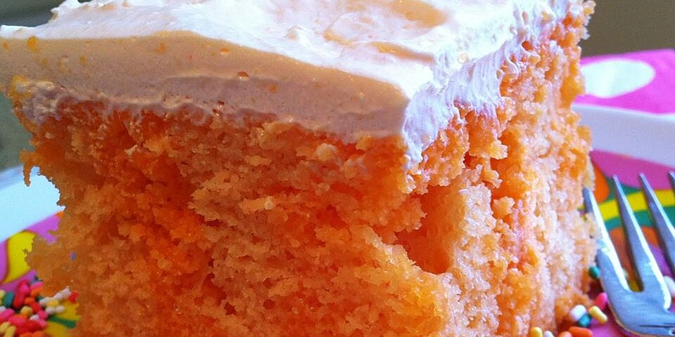 creamy orange cake recipe